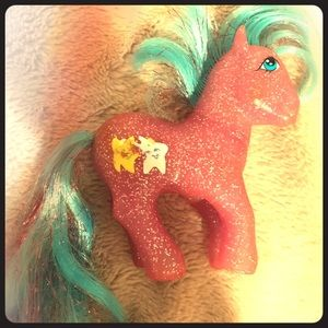 My little pony vintage pink sparkle w/ stars